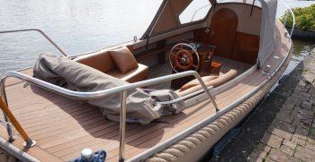 10 De Bruijs Vlet Cabin Sloep Polyester Diesel gebruikt als nieuw Korvet Jachtmakelaardij