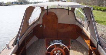 11 De Bruijs Vlet Cabin Sloep Polyester Diesel gebruikt als nieuw Korvet Jachtmakelaardij