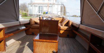 13 De Bruijs Vlet Cabin Sloep Polyester Diesel gebruikt als nieuw Korvet Jachtmakelaardij