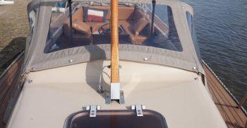 15 De Bruijs Vlet Cabin Sloep Polyester Diesel gebruikt als nieuw Korvet Jachtmakelaardij