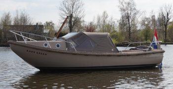 21 De Bruijs Vlet Cabin Sloep Polyester Diesel gebruikt als nieuw Korvet Jachtmakelaardij