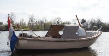 22 De Bruijs Vlet Cabin Sloep Polyester Diesel gebruikt als nieuw Korvet Jachtmakelaardij
